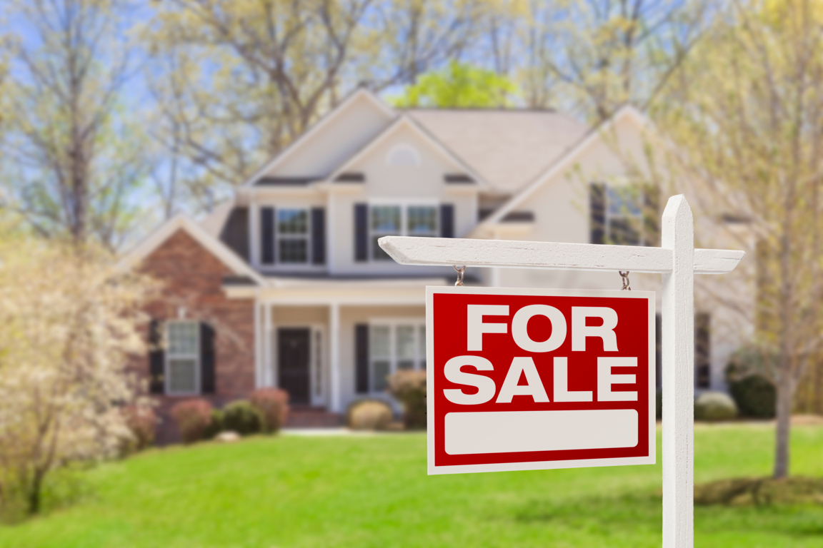 Canva - Home For Sale Real Estate Sign and House resize